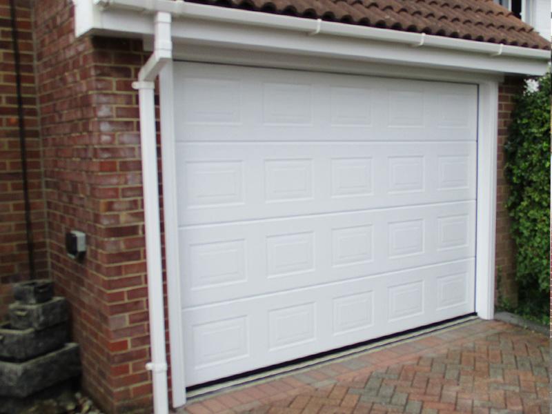 Mrs C. Garage Door in Denmead, Hampshire