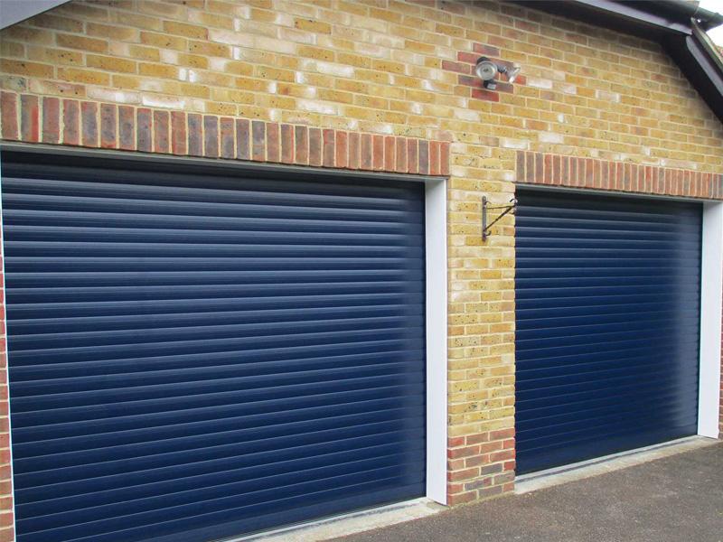 Mrs H. Garage Door in Hayling Island, Hampshire
