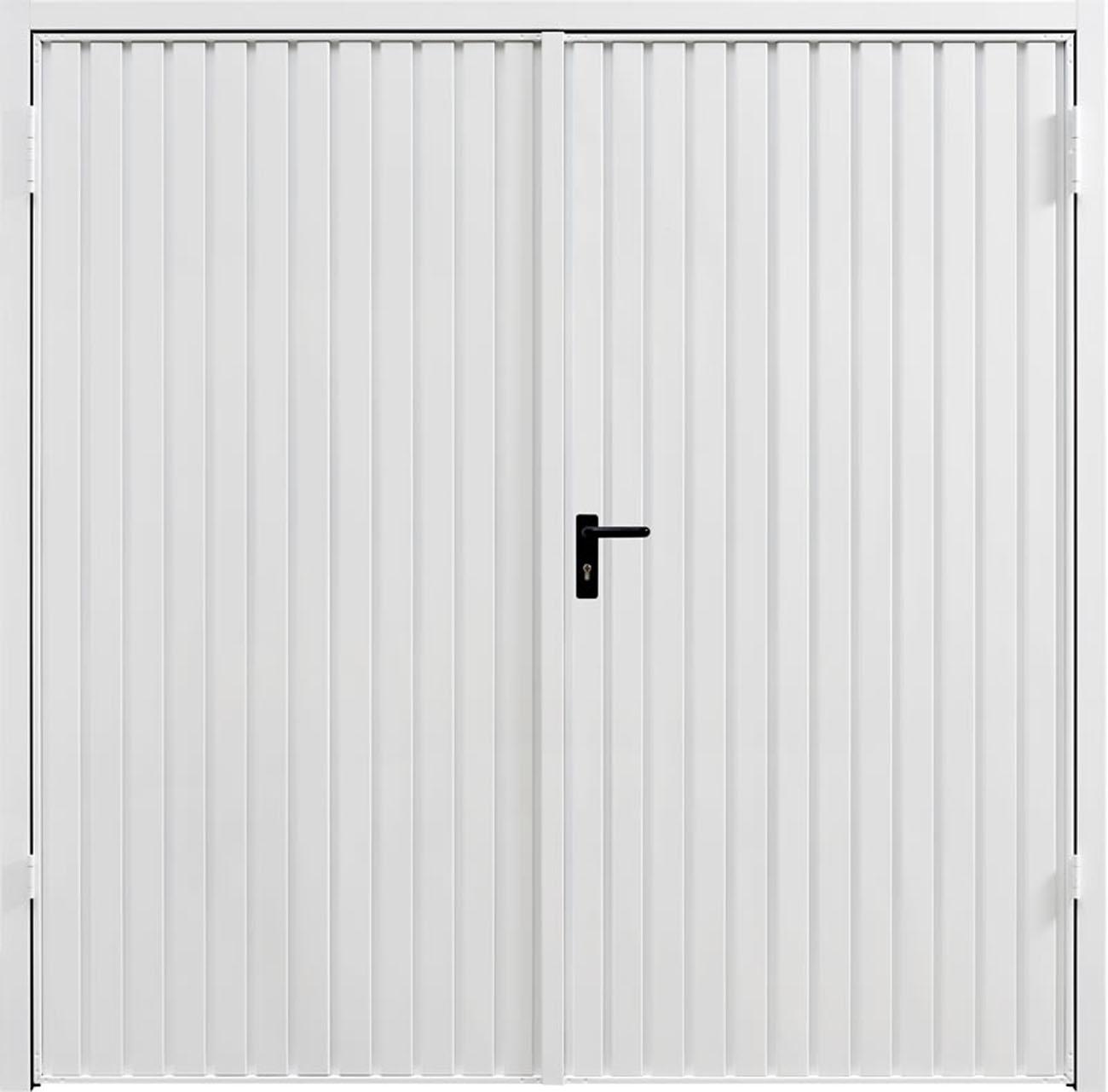 Garador Carlton steel side hinged door