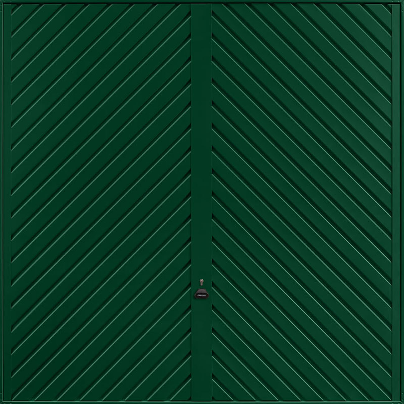 Garador Chevron Emsworth Garage Doors