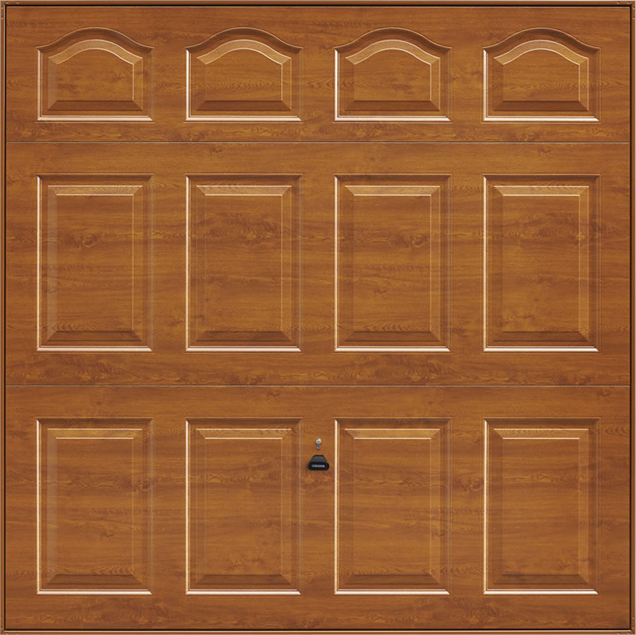 Garador Cathedral Timber Effect Golden Oak