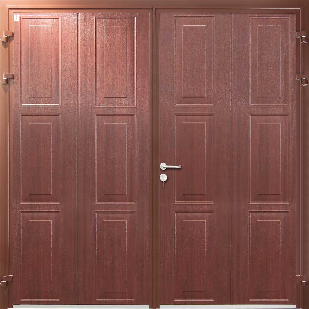 Georgian Vertical Emsworth Garage Doors
