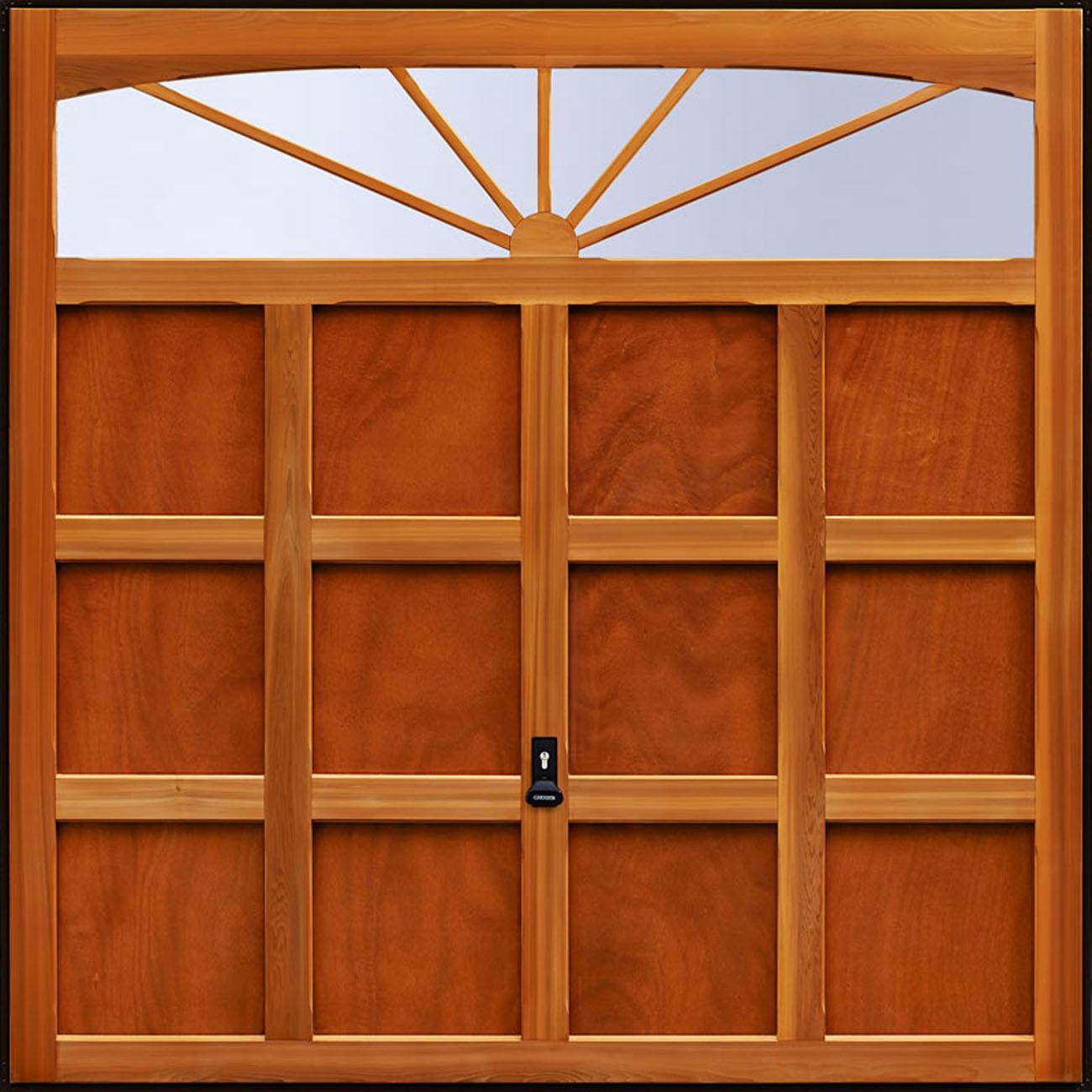 Garador Hinton Timber Panel