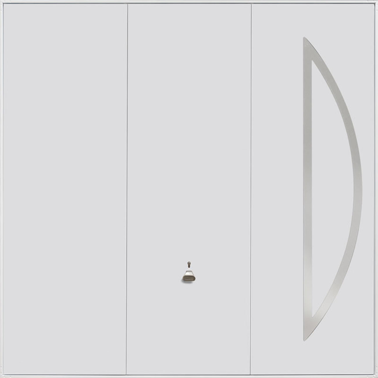 Garador Steel Design Range 211 Emsworth Garage Doors