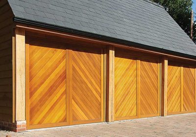 The different types of wood garage doors explained