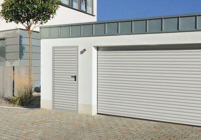 Match your garage door with your entrance door