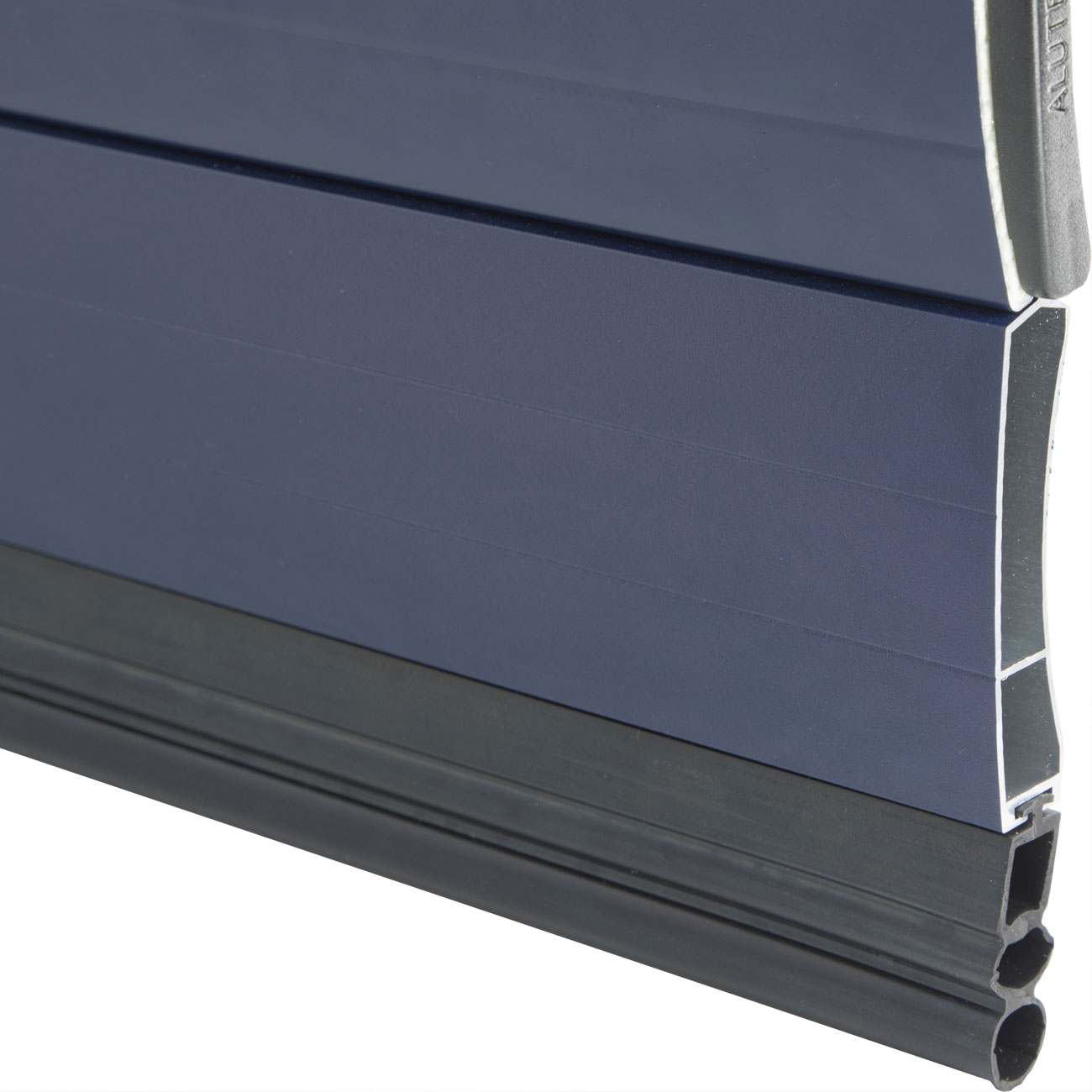Alluguard 55 compact roller shutter bottom rubber safety edge